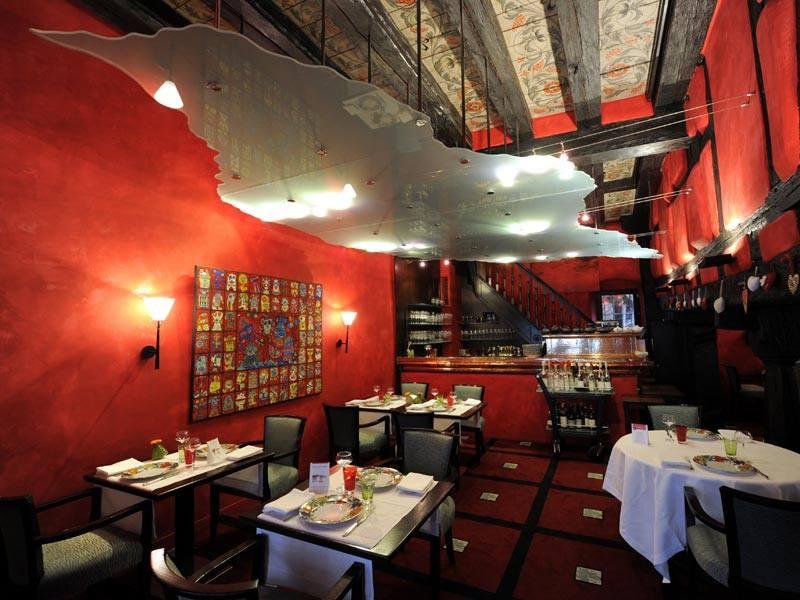 La table du gourmet restaurant mosaic - Restaurant riquewihr table du gourmet ...