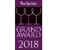 WINE SPECTATOR'S GRAND AWARD 2018